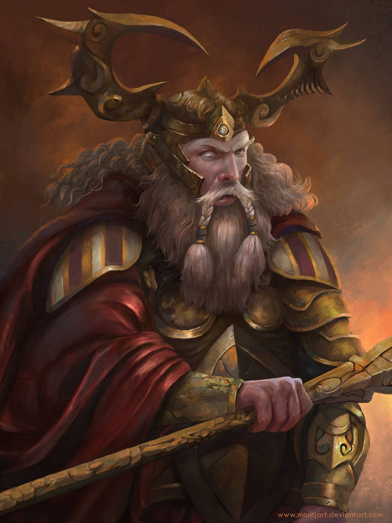 Odin by Montjart