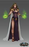 Sorceress by Montjart