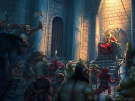 Gorp the Goblin novel series 2 by Montjart