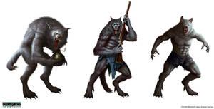 Werewolf by Montjart