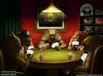 Werewolf playing cards