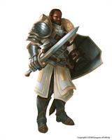 African warrior by Montjart