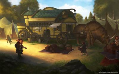 Gnome Wagon