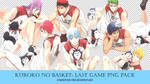 [7 PNG PACK] Team Vorpal Swords (Kuroko no Basket) by crownprince-chan