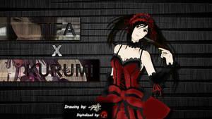 Tifa cosplaying as Kurumi