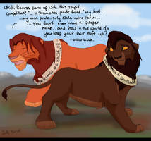Mr Prideland Lion by Juffs