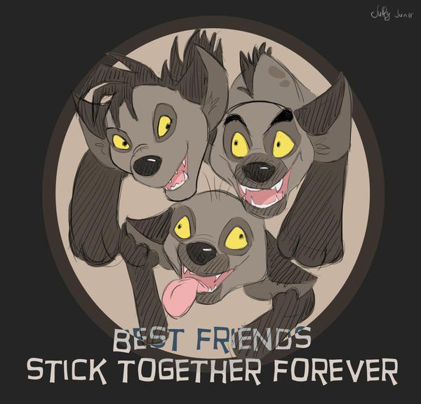 Best friends by Juffs