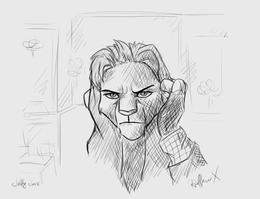 Professor Charles Xavier by Juffs