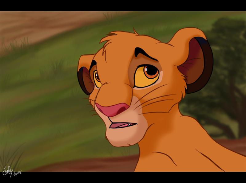 Listen carefully Simba by Juffs
