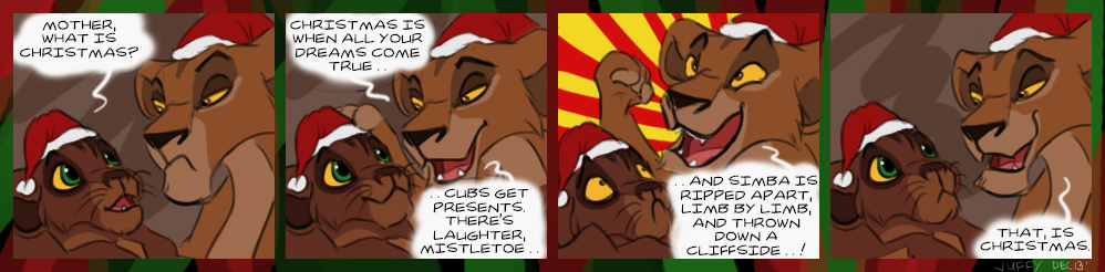 The meaning of Christmas by Juffs