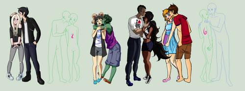 DC Collab: Summer Lovin' .::1 slot left::. by AmayahimeDoodles