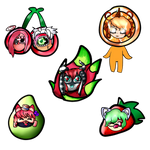 Fruit Ych Examples