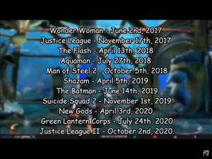 some of the dc comics movies that have been hint