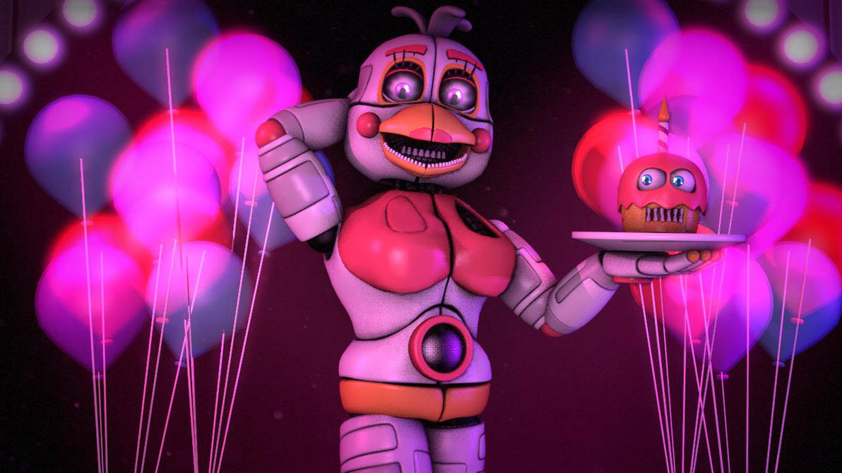 (sfm fnaf 6 and UCN) Funtime Chica by xXMrTrapXx on DeviantArt