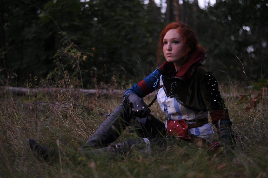 Triss Merigold Cosplay by IrinaZoria