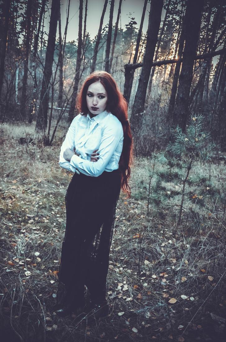 Dark rain by IrinaZoria