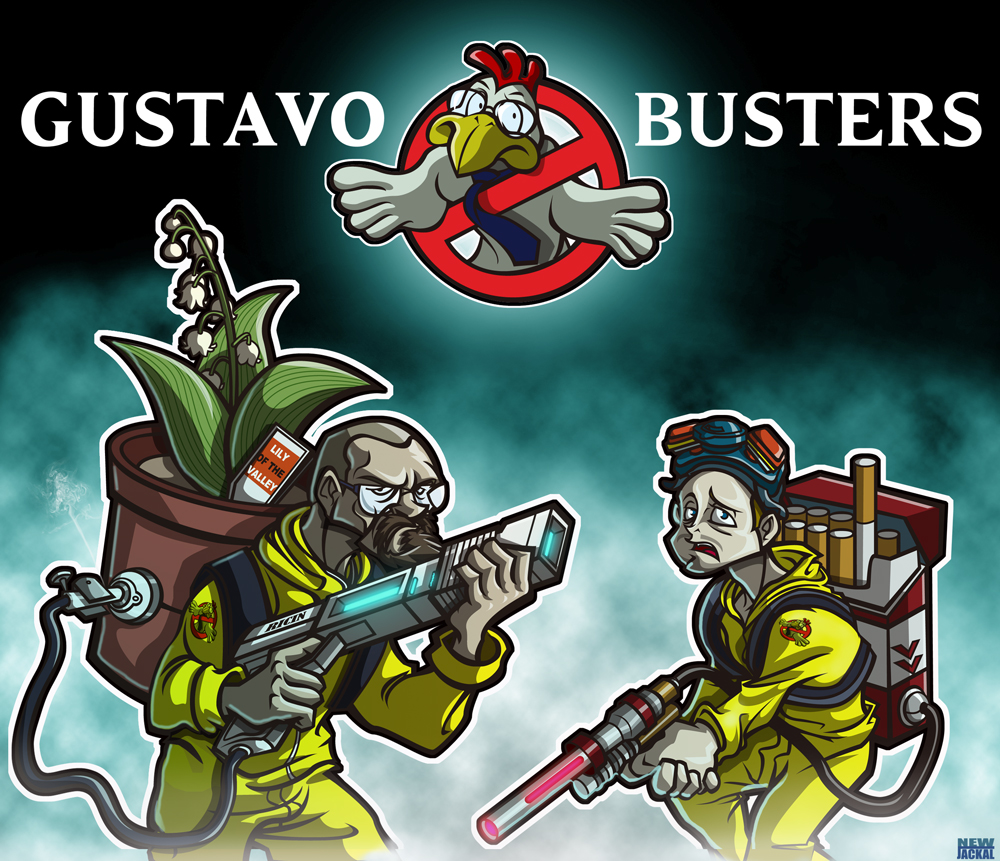 breaking bad vs ghostbusters by newjackal7