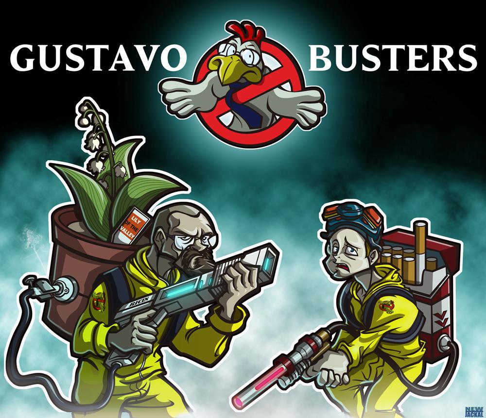 breaking bad vs ghostbusters by newjackal7