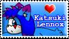 Katsuki Stamp by KatTheFoxtaur