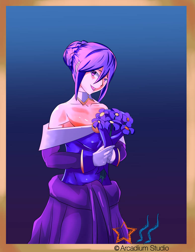 Eltnum's Wedding Dress by StudioSavage