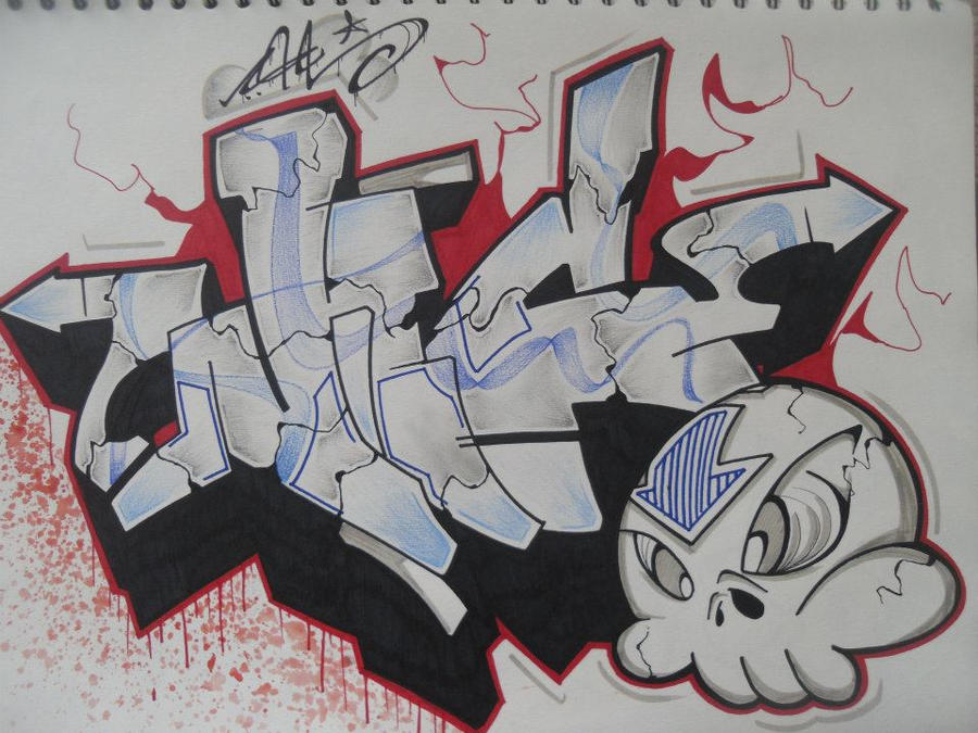 graffiti by Nic-STAR-13 on DeviantArt Graffiti Stars Drawings