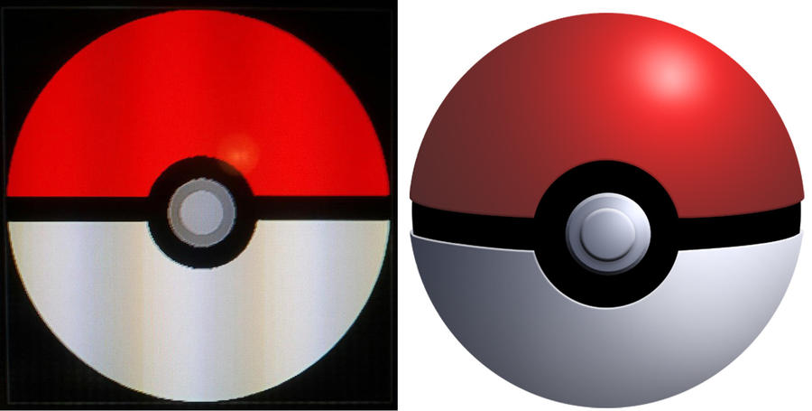My custom made Pokeball emblem by Undeaddemon4