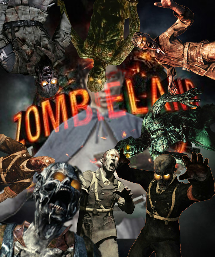 by collecting  quot Black ops 2 zombies  Satan  quot  with similar deviationsOrigins Zombies Poster