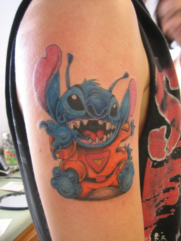 Stitching Tattoo: My Stitch Tattoo By Lyyric310 On DeviantArt