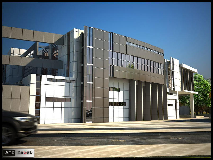 Richard Meier by Amr-Maged