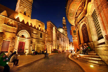 Cairo, Egypt, Mo'ez Street, Hussein by Amr-Maged