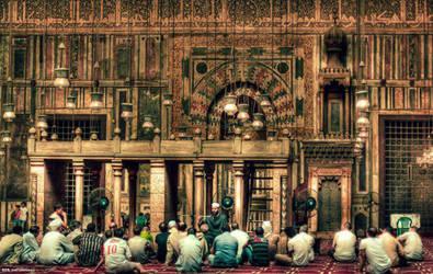 Masged El Sultan Hassan , Cairo.