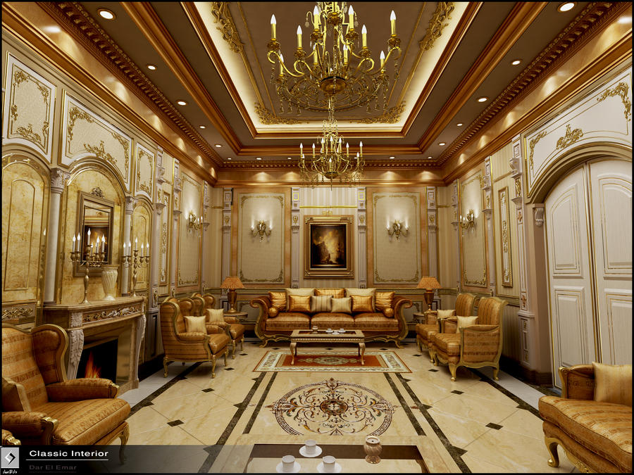 Classic Interior classic interior in ksaamr-maged on deviantart