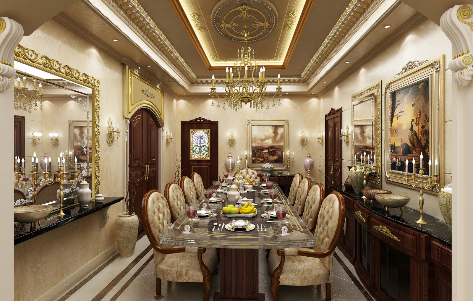 Dinning Room 2 by Amr-Maged