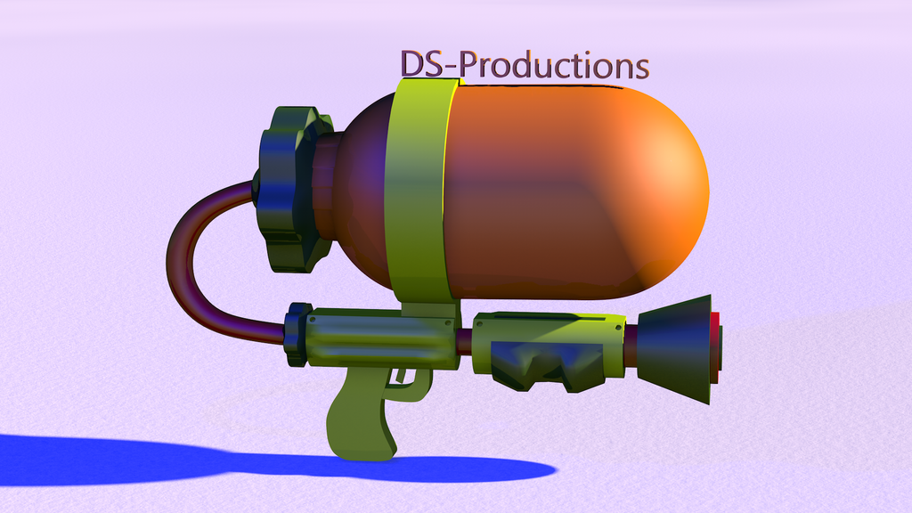 Ink Gun | Splatoon (Remodeled) by DS-Productions2