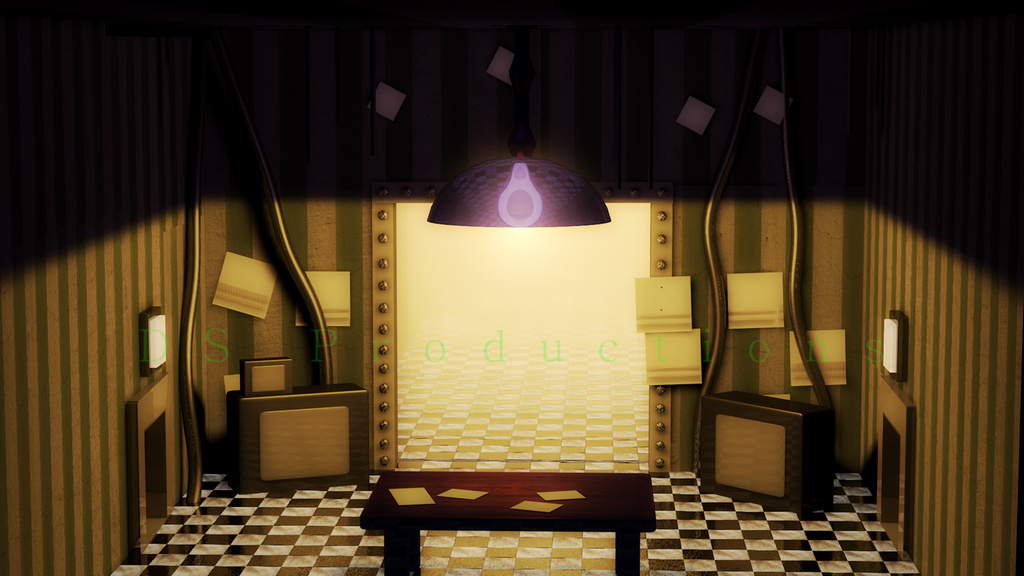FNaF 2 Plushy Office | FNaF (Remodeled) by DS-Productions2