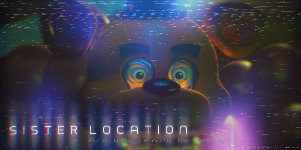 FNaF: Sister Location | Freddy 3D Test | by DS-Productions2