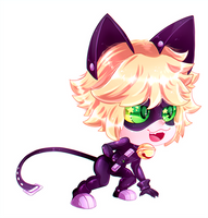 Chat Noir by Likara01