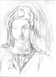 Michelangelo study by RaczTamas