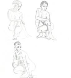 Poses sketch by RaczTamas