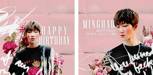 Happy Birthday, Minghao by baemilks