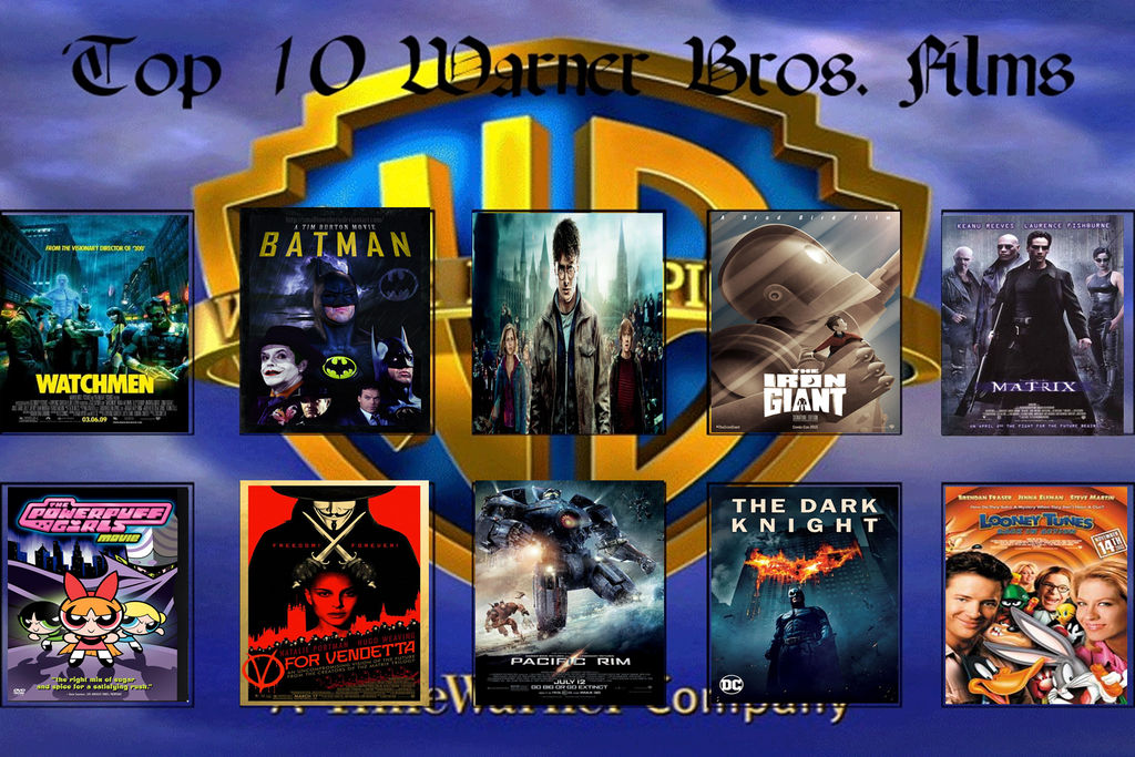 Favorite Warner Bros Movies by MarkTheTreeKitty1998 on DeviantArt