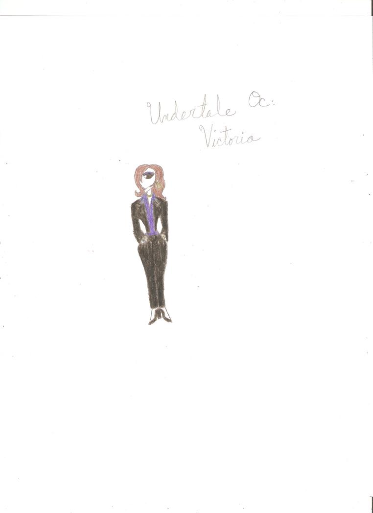 Undertale Oc Victoria by KOlover12