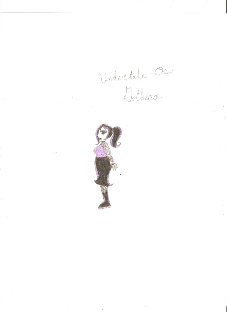 Undertale Oc Gothica by KOlover12