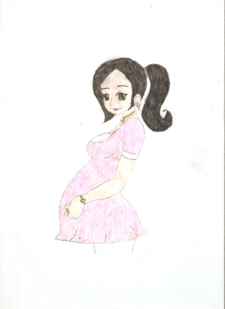 Pregnant Mrs. Daniel Seville 3.0 by KOlover12