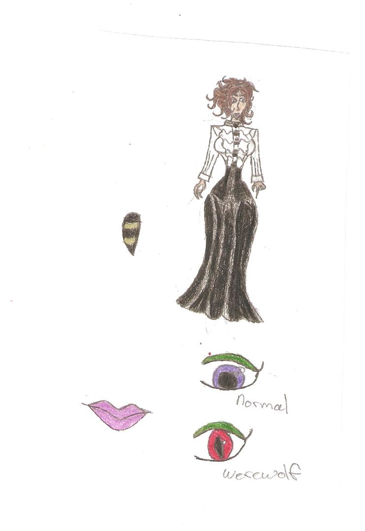 Castlevania Oc: Jessica Cawley by KOlover12