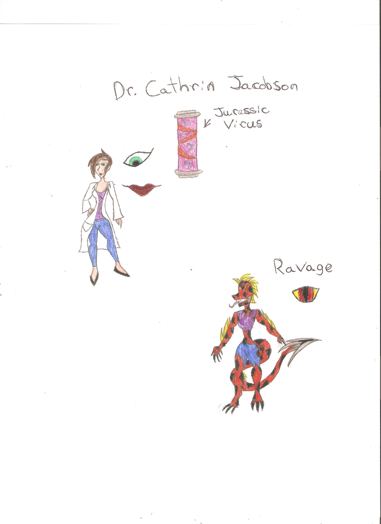 RE Oc: Dr. Cathrin Jacobson aka Ravage by KOlover12