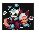 Skrilla and Skrillou by TaruKitsune