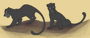 Bagheera by WillowWhiskers