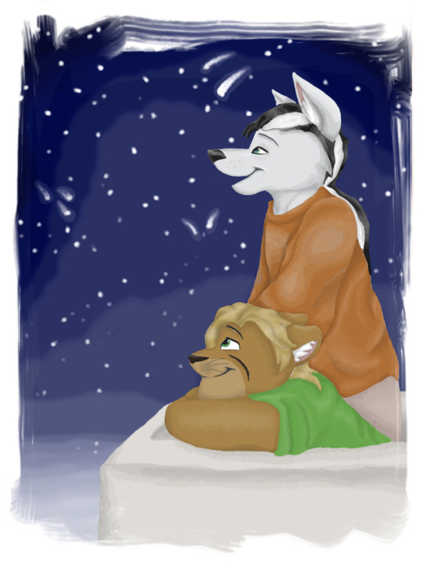 Star Gazing by WillowWhiskers