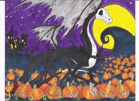 The Pumpkin King by RaptorBarry